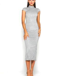 Honey Dress Silver front